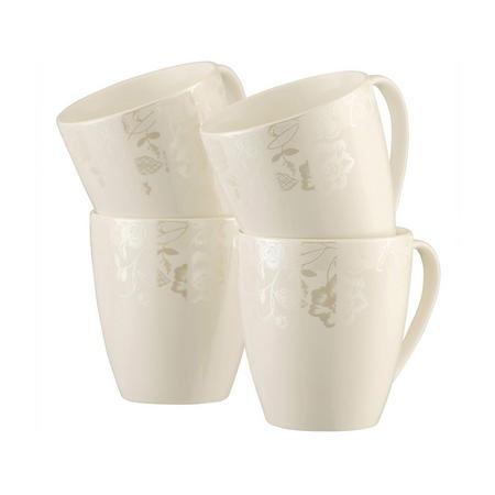 Evermore 4 Mugs Set Multi Colour