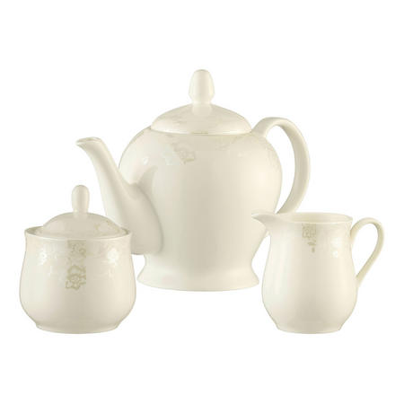 Evermore Teapot, Sugar & Cream Set Multi Colour
