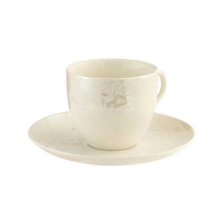 Evermore 4 Teacups & Saucers Set Multi Colour