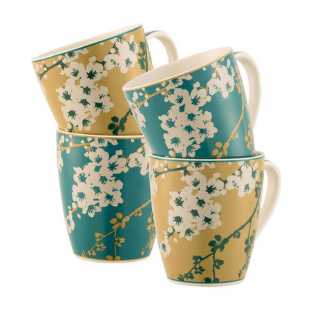 Bellevue 4 Mugs Set Multi Colour
