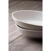 Atlantic Pasta Bowl Set of 4 White