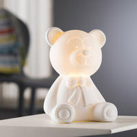 Teddy Bear Luminaire White
