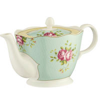 Archive Rose Teapot Multi Colour