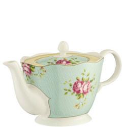 Archive Rose Teapot Multi Colour
