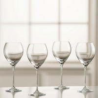 Clarity Red Wine Set of 6 Clear