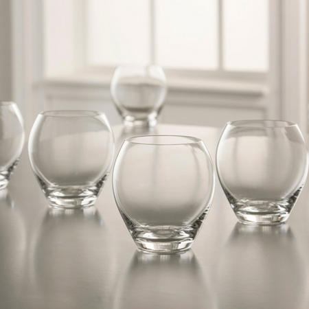 Clarity Tumbler Set of 6 Clear
