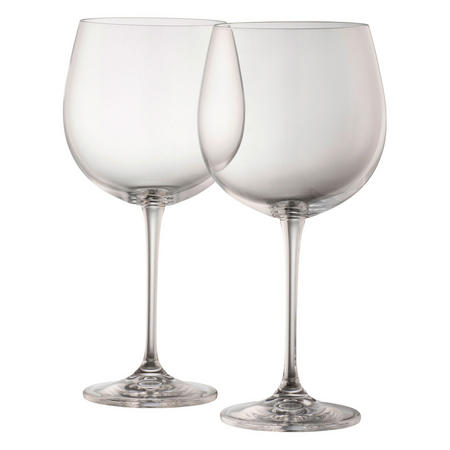 Gin & Tonic Glass Pair Clear