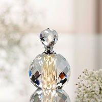 "Savoy 4"" Perfume Bottle Clear"