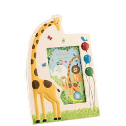 Jolly Giraffe Frame Multi Colour