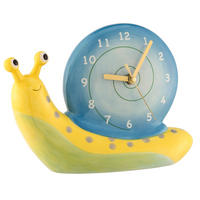 Snail Table Clock Multi Colour