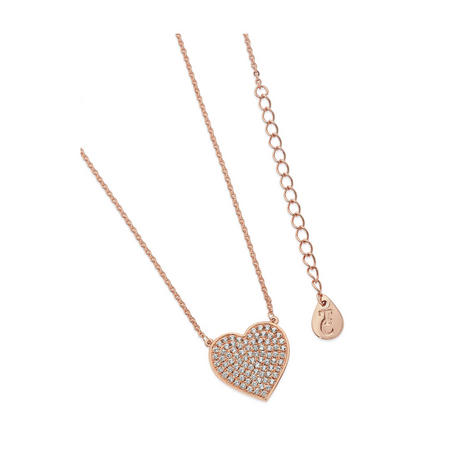 Rose Gold Large Heart Pendant