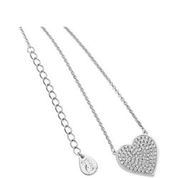 Silver Large Heart Pendant