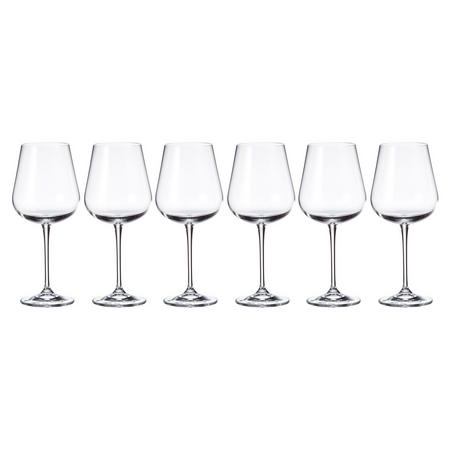 Grape 540ml Wine Glasses Set Of Six