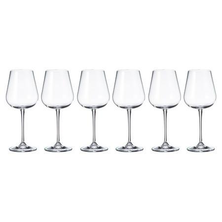 Grape 450ml Wine Glasses Set Of Six