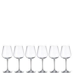 Grape 450ml Wine Glasses Set Of Six