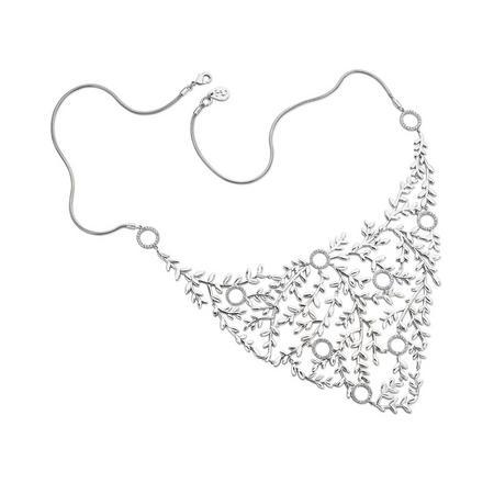 Silver Vine Neck Piece