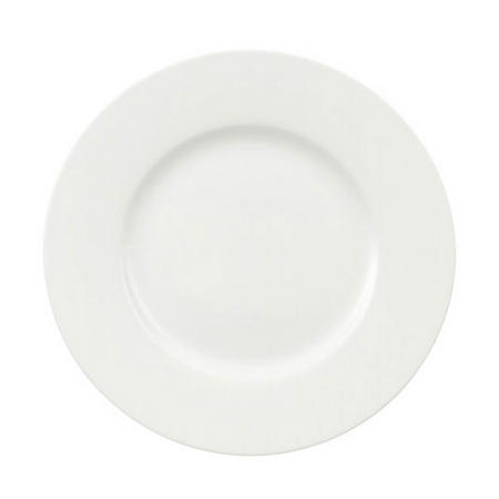 Royal Salad Plate White