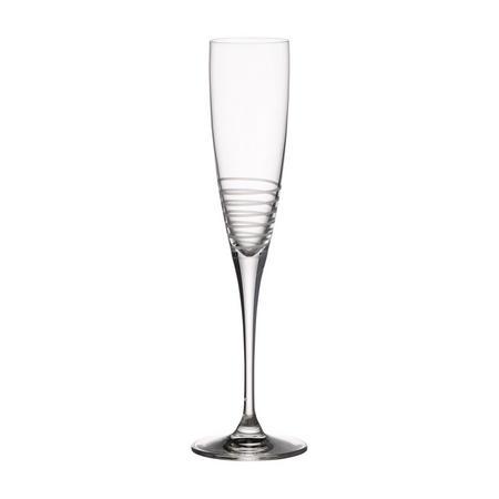 Maxima Decorated Spiral Champagne Flute