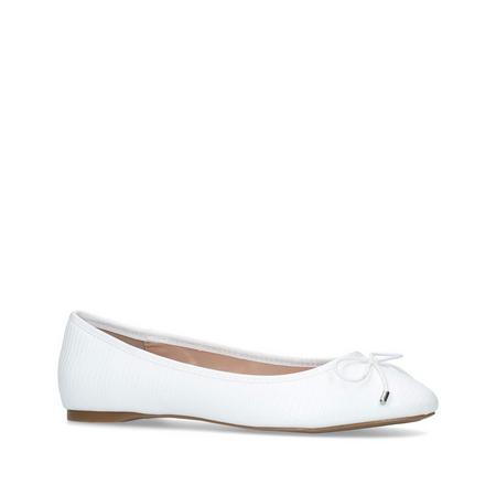 Melody 3 Ballerina Pumps White