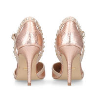 Kankan Court Shoes Metallic