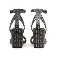 Gianni Strappy Heel Grey