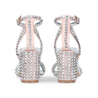 Gianni Strappy Heel Pink