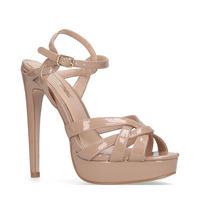 Samia Platform Heel Brown