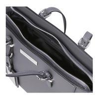 Danna2 Winged Tote Handbag Grey