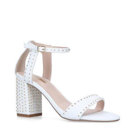 Gogo Sandals White