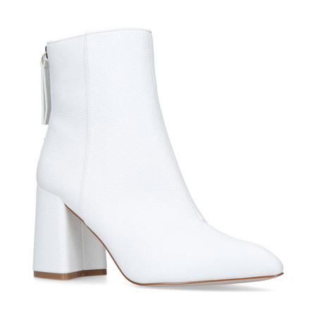 Secret Ankle Boots White