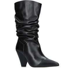 Scrunch Ankle Boot Black