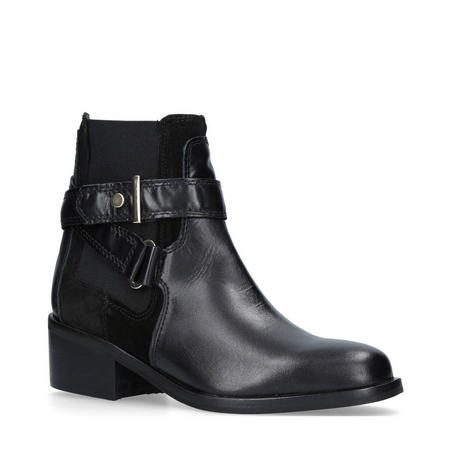 Stirrup Ankle Boot Black