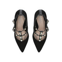 Agave Court Shoes Black