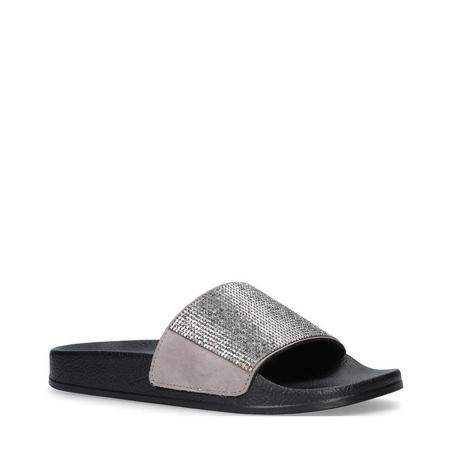 Krown Sandal Black