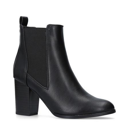 Tisha Chelsea Boots Black