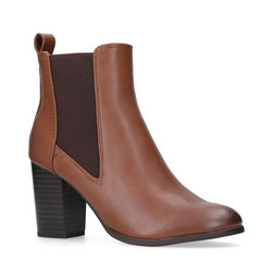 Tisha Chelsea Boots Brown