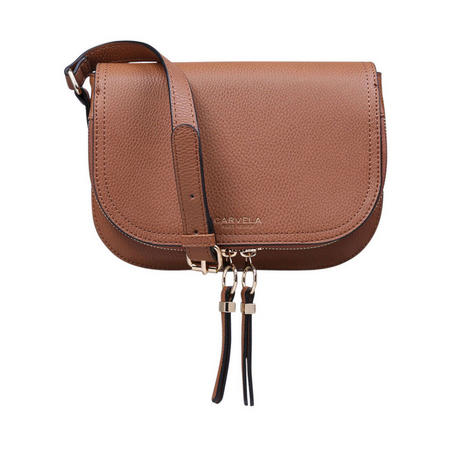 Soula Saddle Zip Xbody Brown