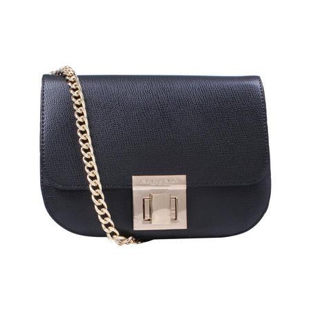 Sara Clean Saddle Bag Black