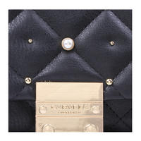Sadie Quilted Bag Xbody Black