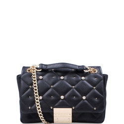 Sadie Quilted Bag Xbody Black
