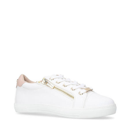 Jagged Trainers White