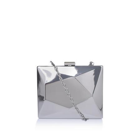 Glide Clutch Bag Silver-Tone