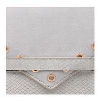 Aron Clutch Bag Grey