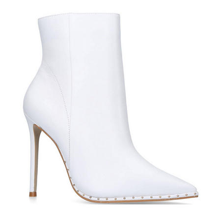 Spectacle Ankle Boot White