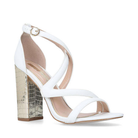 Swish Sandals White