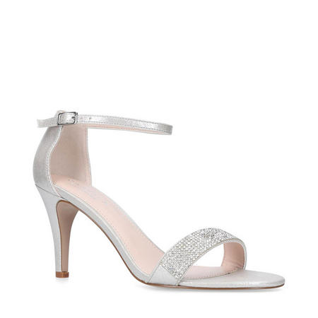 Kink Sandals Silver-Tone
