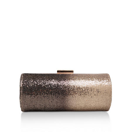 Davina Clutch Bag Gold-Tone