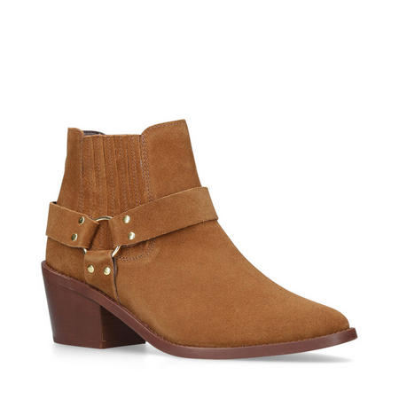 Sheriff Ankle Boot Brown