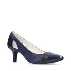 Firstclass Court Shoes Navy