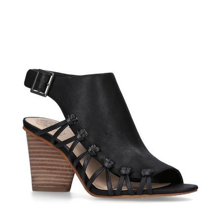 Ankara Sandal Black